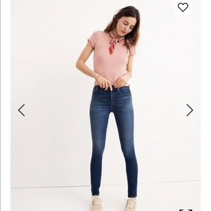 "10"" High-Rise Skinny Jeans Madewell Jeans"